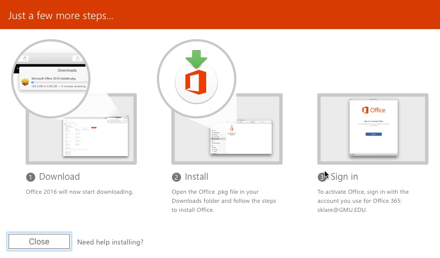 How to Install Office 365 ProPlus on your Computer