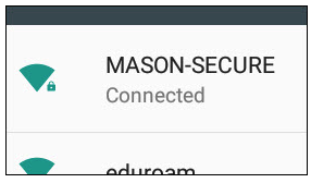 Android MASON-SECURE Connected